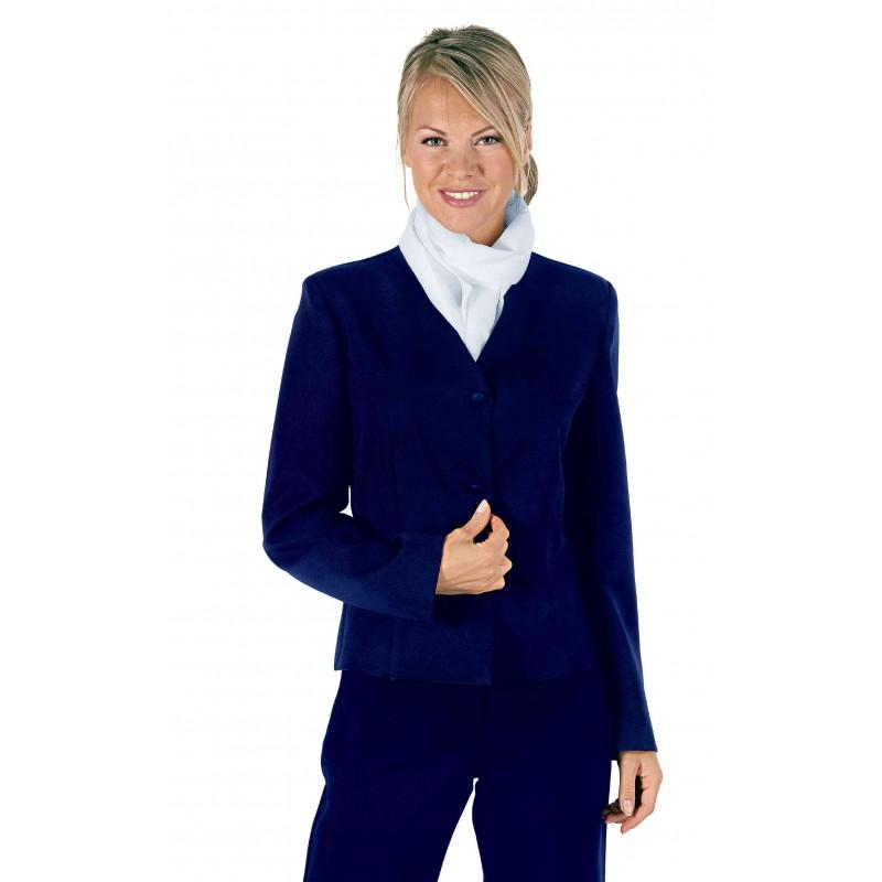 veste tailleur marine pour femme ne se froisse pas lisavet. Black Bedroom Furniture Sets. Home Design Ideas
