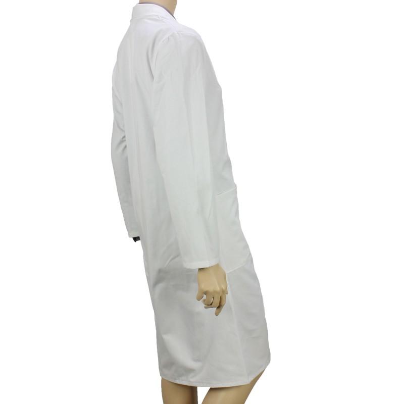 lot de 2 blouses blanches de chimie pas cher unisexe. Black Bedroom Furniture Sets. Home Design Ideas