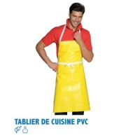 Tablier de cuisine pvc