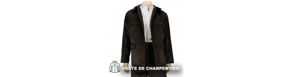 Veste, coltin et gilet de Charpentier Le Laboureur