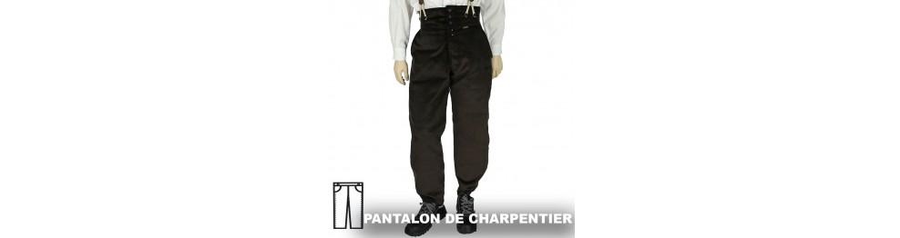 Pantalon de Charpentier moleskine et velours le Laboureur, FHB et Hasson