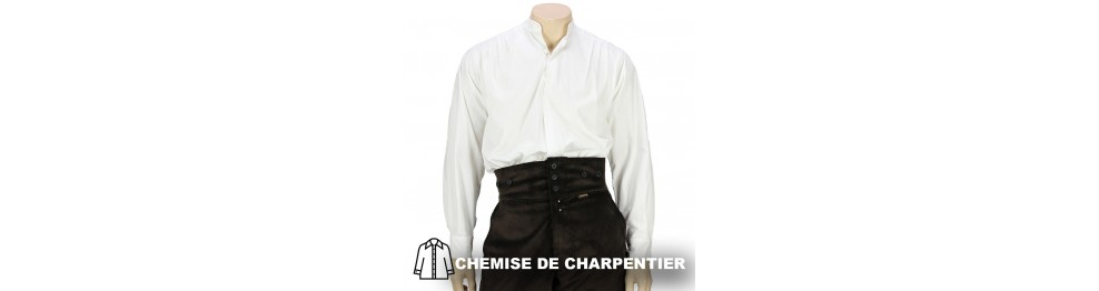 Pull et chemise pour Charpentier