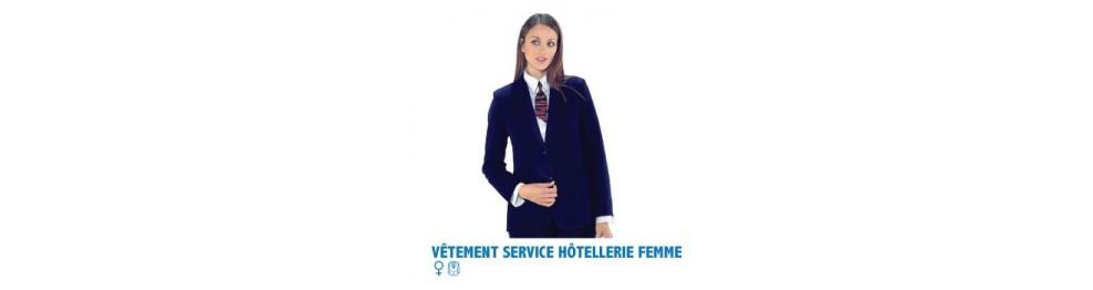 VÊTEMENTS DE SERVICE HÔTELLERIE RESTAURATION  FEMME