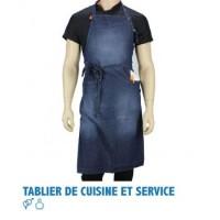 TABLIER DE CUISINE ET SERVICE