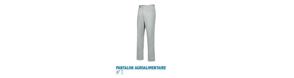 Pantalons agroalimentaire