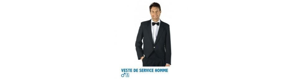 Vestes de service homme