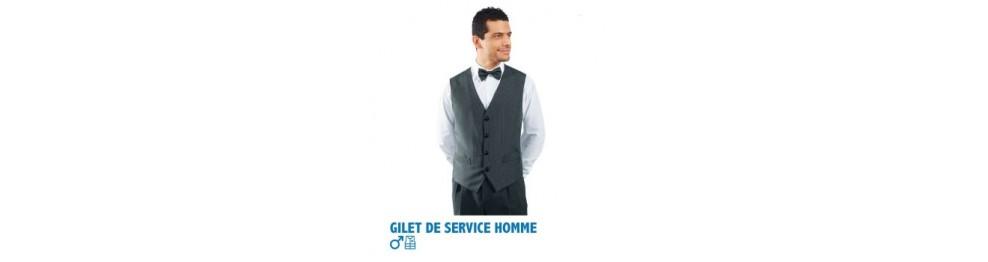 GILETS DE SERVICE HOMME