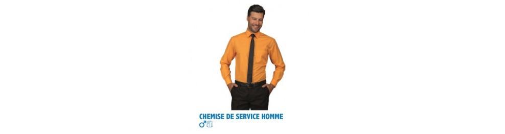 Chemises de service homme