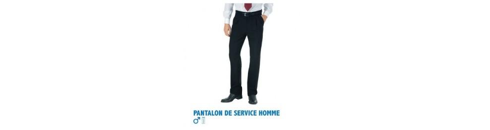 Pantalons de service homme